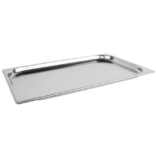 Premier Stainless Steel Gastronorm Pan - Full Size 1/1  2cm